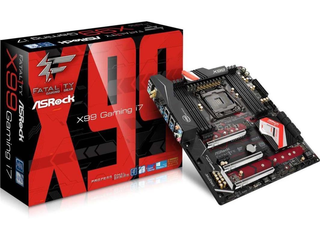 Płyta główna ASRock Fatal1ty X99 Professional Gaming i7 1