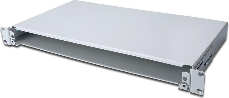Digitus Panel światłowodowy, wysuwny, 1U (DN-96200) 1