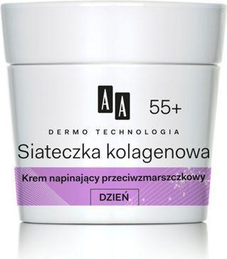 AA Dermo Technologia Siateczka kolagenowa 55+ Krem na dzień 50ml 1