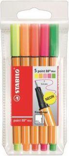 Stabilo Cienkopis, Mini Neon (68805-1) 1