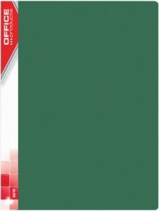Panta Plast TECZKA OFERTOWA OFFICE PRODUCTS A4/10 520MIC ZIELONA - zakupy dla firm - 21121011-02 1