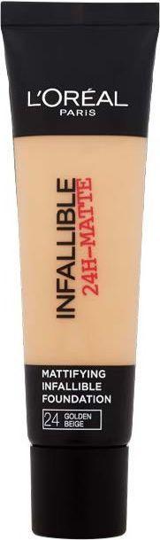 L'Oreal Paris Infallible 24-Matte Mattifying Foundation 24 Golden Beige 35ml 1