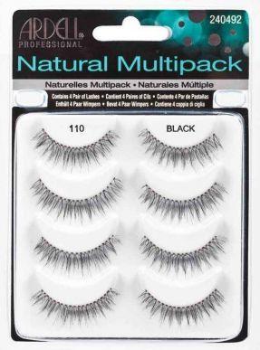 Ardell Natural Multipack sztuczne rzęsy czarne 8 szt 1