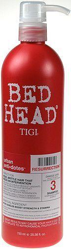 Tigi Bed Head Urban Antidotes Resurrection Shampoo Szampon do włosów 750ml 1