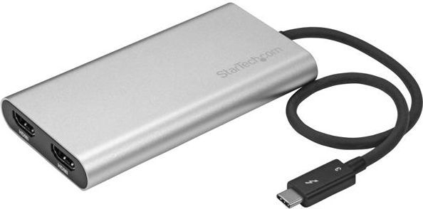 Adapter USB StarTech Thunderbolt 3 - 2x HDMI (TB32HD2) 1