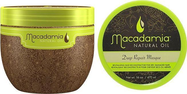 Macadamia Macadamia Deep Repair Mask Maska do włosów suchych i zniszczonych 470ml 1