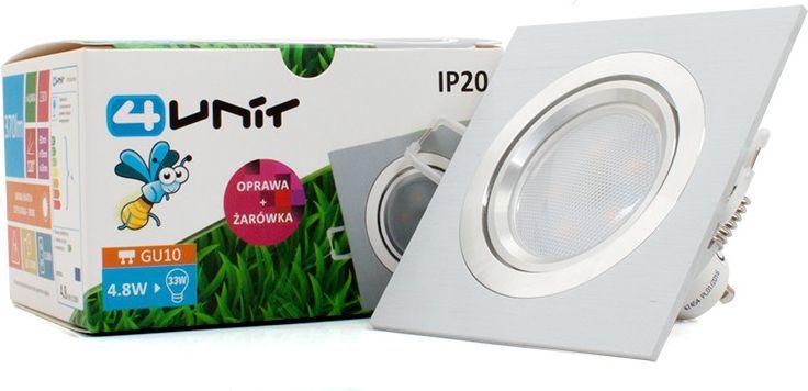 Abilite Żarówka LED z oprawką, GU10, Biała 1