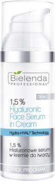 Bielenda Professional 1.5% Hyaluronic Face Serum In Cream (W) serum w kremie do twarzy 50g 1