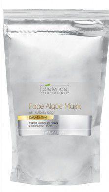 Bielenda Professional Face Algae Mask With Colloidal Gold Maska algowa do twarzy z koloidalnym złotem Opakowanie Uzupełniające 190g 1