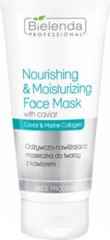 Bielenda Professional Nourishing & Moisturizing Face Mask With Caviar Odżywczo-nawilżająca maseczka z kawiorem 175ml 1
