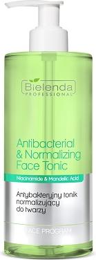 Bielenda Professional Antibacterial & Normalizing Face Tonic Antybakteryjny tonik normalizujący do twarzy 500ml 1