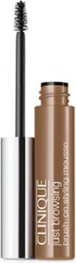 Clinique Just Browsing Brush-On Styling Mousse Żel do brwi 02 Light Brown 2ml 1
