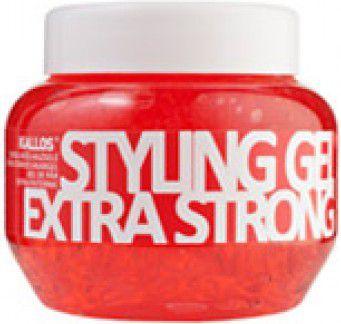 Kallos Styling Gel Extra Hold Żel do stylizacji włosów (czerwony) 275ml 1