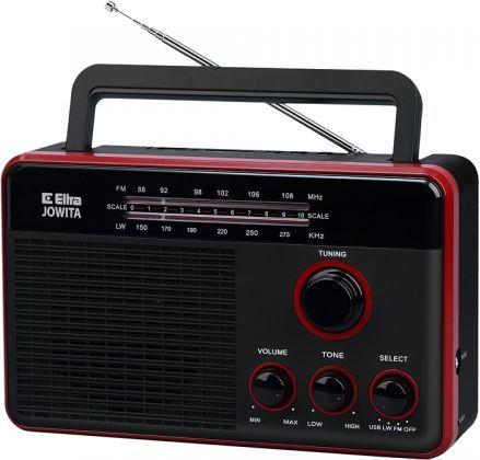 Radio Eltra Jowita MP3, USB, SD czarne 1