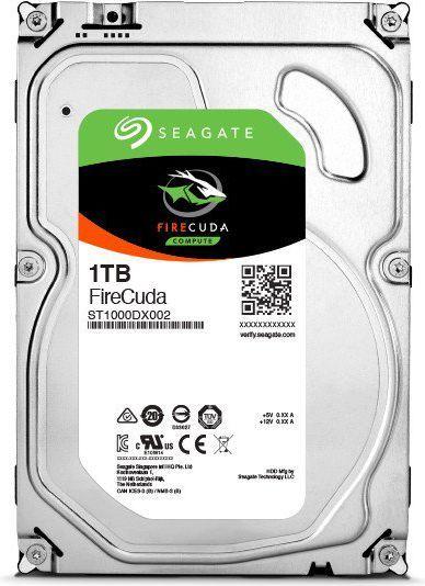 """Dysk Seagate FireCuda 1 TB 3.5"""" SATA III (ST1000DX002) 1"""