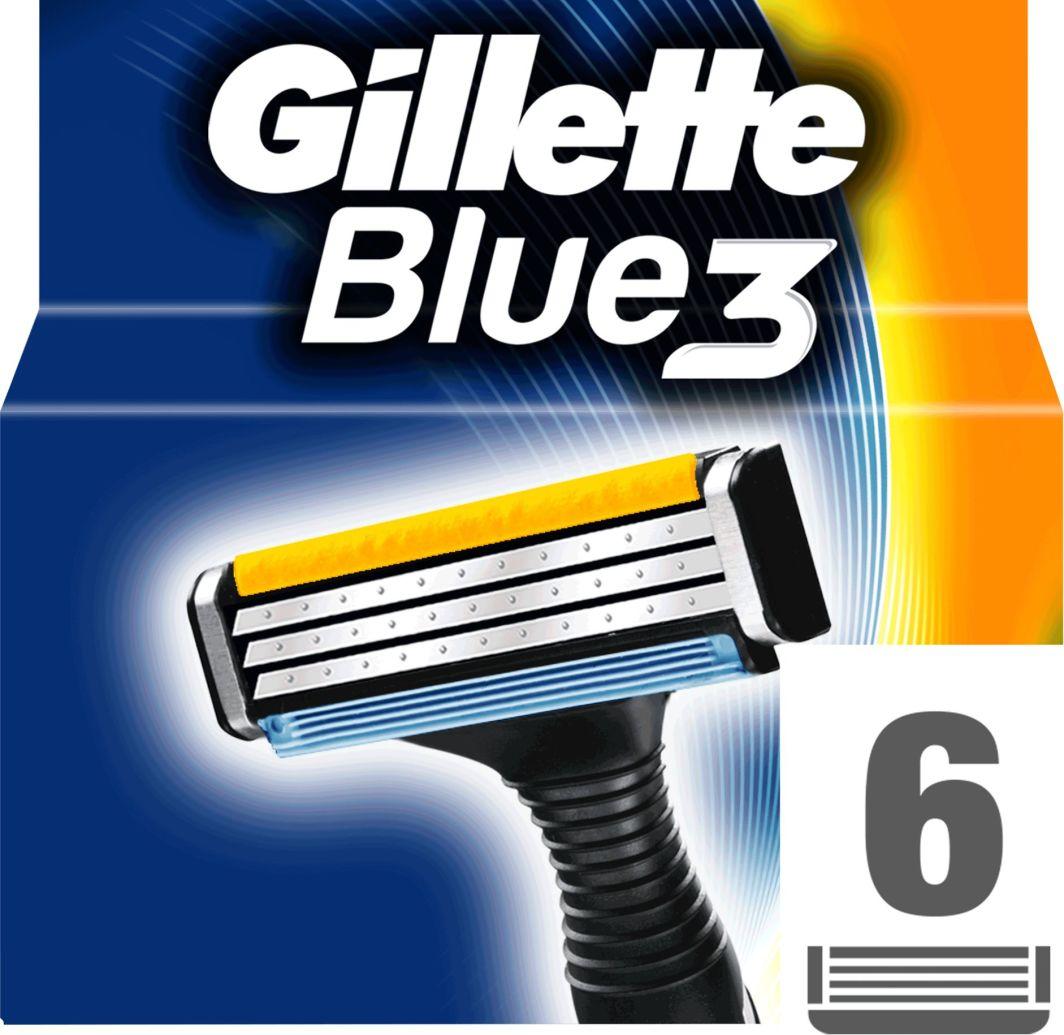 Gillette Blue 3 wymienne ostrza do maszynki do golenia 6szt 1
