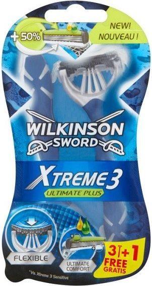 Wilkinson  XTREME3 ULTIMATE PLUS 3+1 1