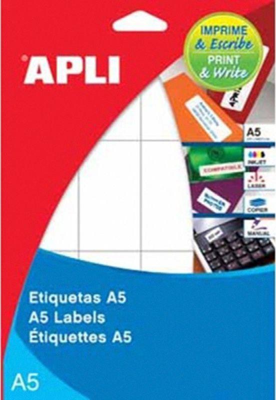 Apli ETYKIETY A5 UNIW. 49 X 100 - zakupy dla firm - AP1881 1
