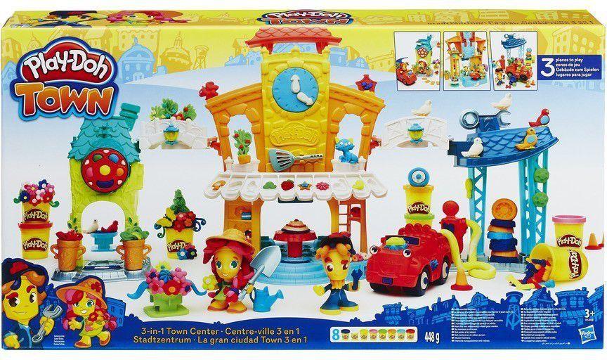 Hasbro Play-Doh Zestaw 3 w 1 Miasto (B5868) 1