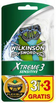 Wilkinson  Xtreme3 Sensitive 3 + 3 GRATIS Maszynka do golenia 1