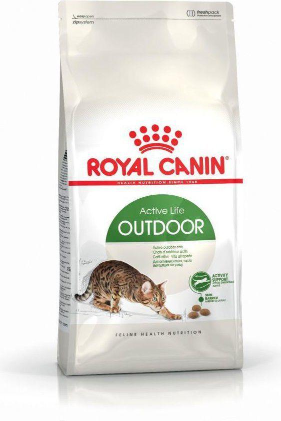 Royal Canin Outdoor karma sucha dla kotów dorosłych, wychodzących na zewnątrz 10 kg 1
