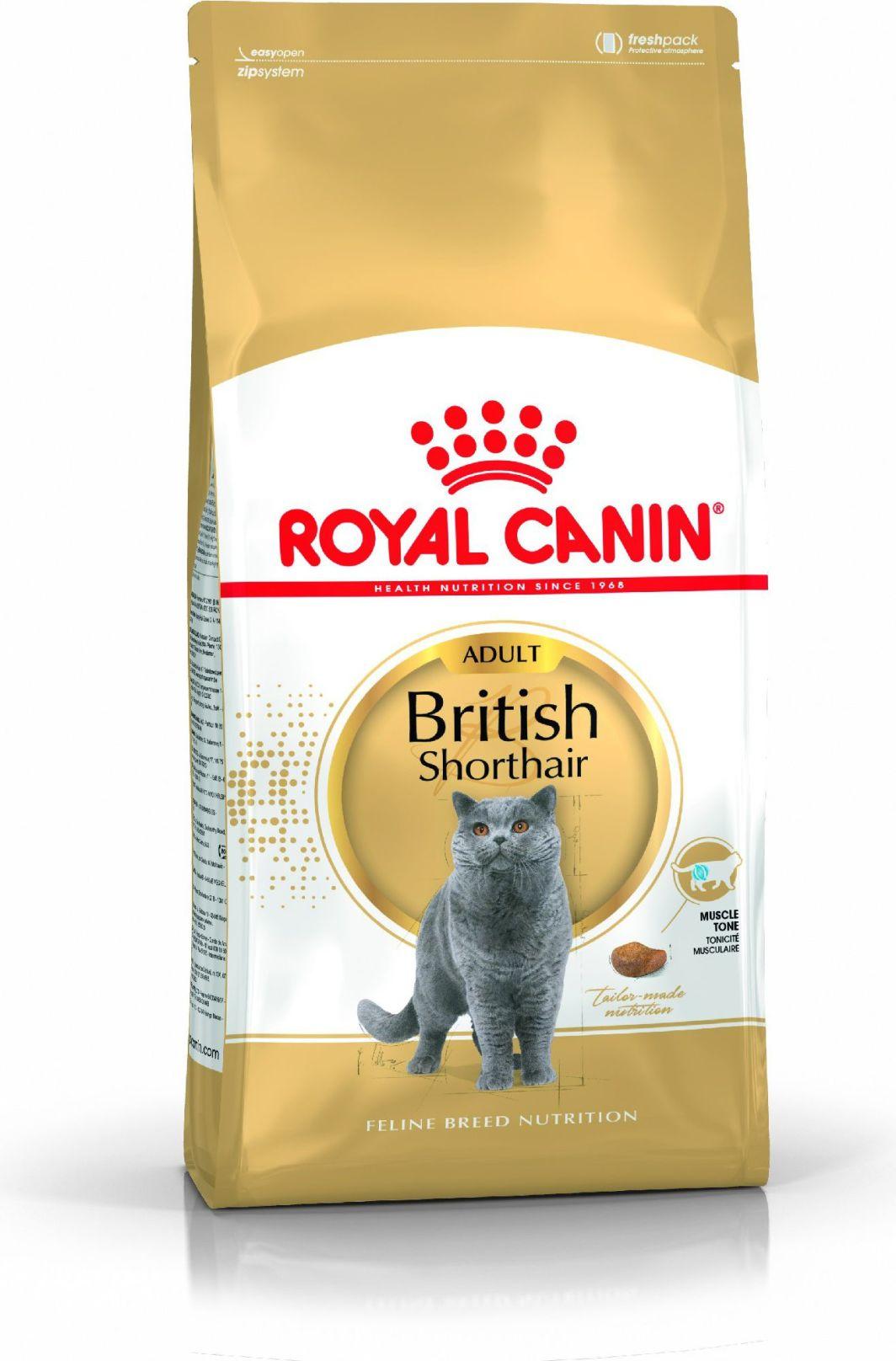 Royal Canin British Shorthair karma sucha dla kotów dorosłych rasy brytyjski krótkowłosy 4kg 1