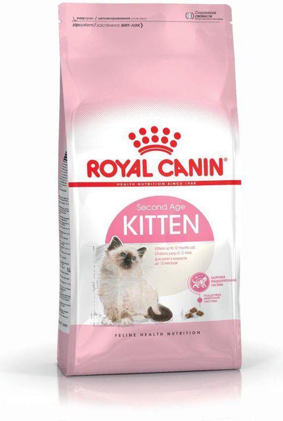 Royal Canin Kitten karma sucha dla kociąt od 4 do 12 miesiąca życia 4kg 1