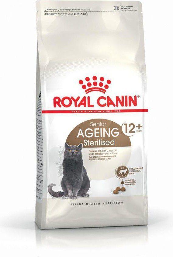 Royal Canin Ageing +12 karma sucha dla kotów dojrzałych, sterylizowanych 4 kg 1