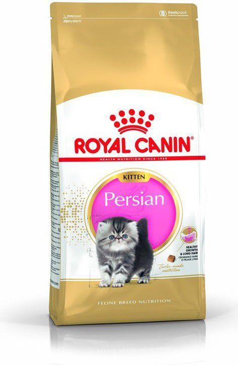 Royal Canin Persian Kitten karma sucha dla kociąt do 12 miesiąca życia rasy perskiej 2 kg 1