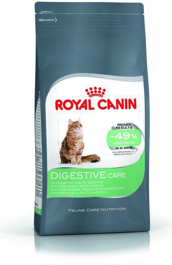 Royal Canin Digestive Care karma sucha dla kotów dorosłych wspomagająca przebieg trawienia 2 kg 1
