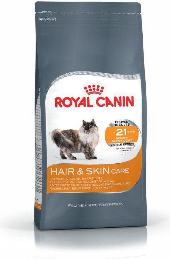 Royal Canin Hair&Skin Care karma sucha dla kotów dorosłych, lśniąca sierść i zdrowa skóra 2 kg 1