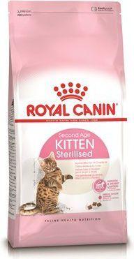 Royal Canin Kitten Sterilised karma sucha dla kociąt od 4 do 12 miesiąca życia, sterylizowanych 2 kg 1
