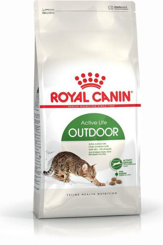 Royal Canin Outdoor karma sucha dla kotów dorosłych, wychodzących na zewnątrz 2kg 1