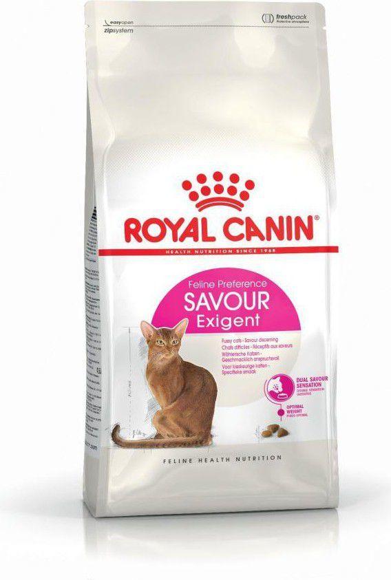 Royal Canin Exigent Savour Sensation karma sucha dla kotów dorosłych, wybrednych, kierujących się teksturą krokieta 2 kg 1