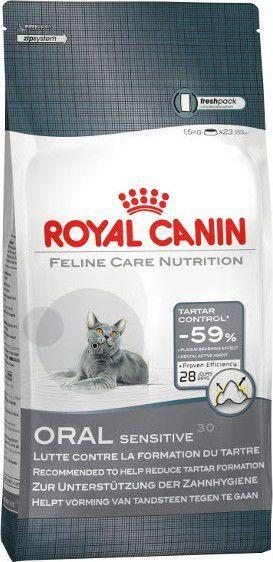 Royal Canin Oral Care karma sucha dla kotów dorosłych, redukująca odkładanie kamienia nazębnego 1.5 kg 1
