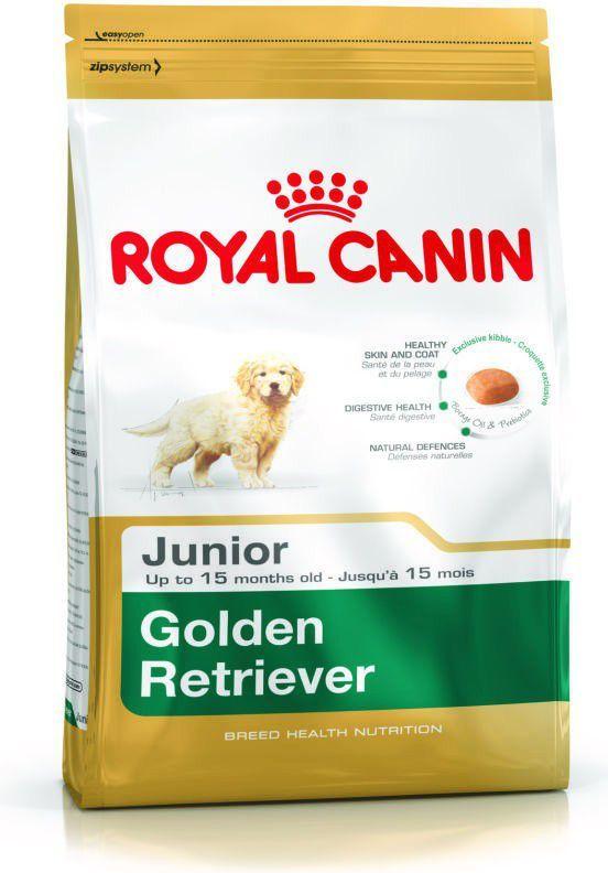 Royal Canin Golden Retriever Junior karma sucha dla szczeniąt do 15 miesiąca, rasy golden retriever 12 kg 1