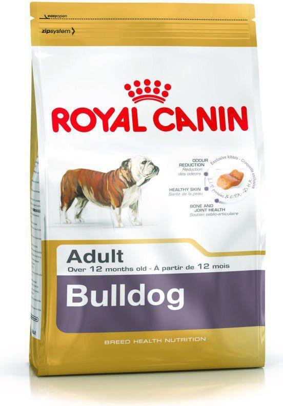 Royal Canin Bulldog Adult karma sucha dla psów dorosłych rasy bulldog 12 kg 1
