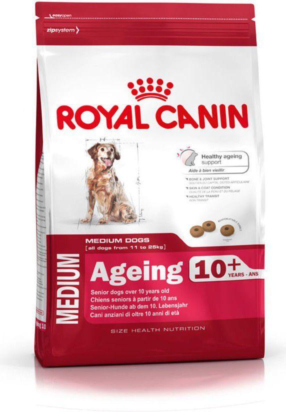 Royal Canin Medium Ageing 10+ 15 kg 1