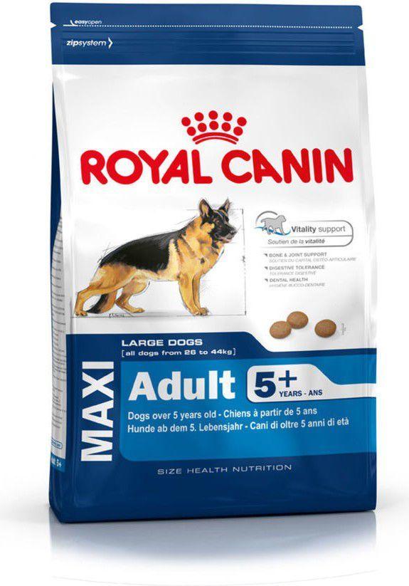 Royal Canin Maxi Adult karma sucha dla psów dorosłych, do 5 roku życia, ras dużych 5+ 15 kg 1