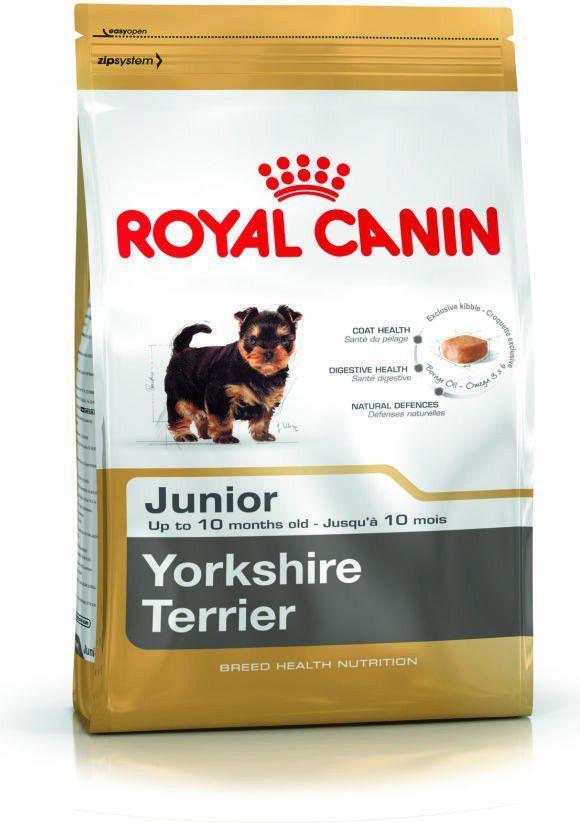 Royal Canin Yorkshire Terrier Junior karma sucha dla szczeniąt do 10 miesiąca, rasy yorkshire terrier 7.5 kg 1