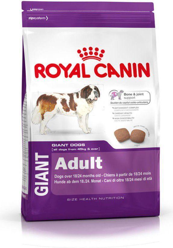 Royal Canin Giant Adult Psy dorosłe ras olbrzymich 15 kg 1
