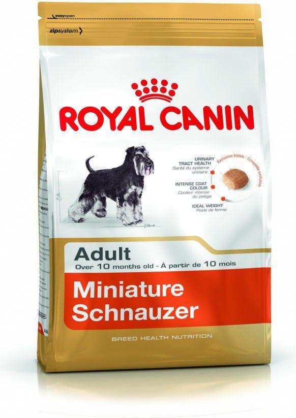 Royal Canin Miniature Schnauzer Adult karma sucha dla psów dorosłych rasy schnauzer miniaturowy 7.5 kg 1