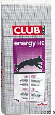 Royal Canin Club Energy HE karma sucha dla psów dorosłych bardzo aktywnych lub pracujących 20kg 1