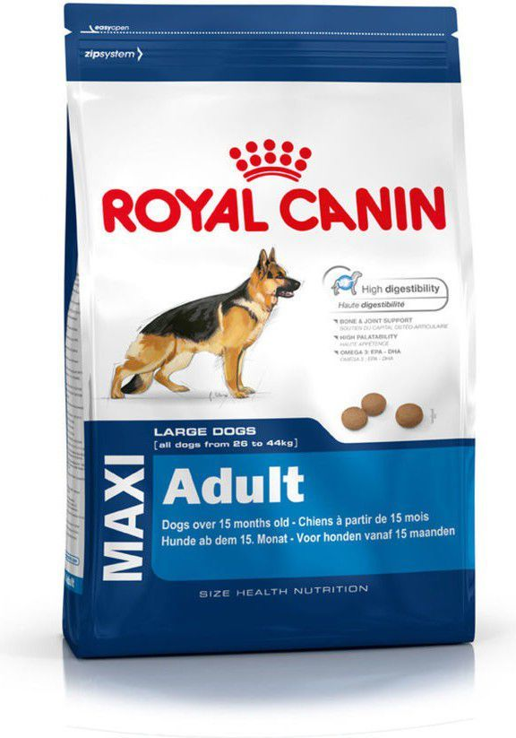Royal Canin Maxi Adult karma sucha dla psów dorosłych, do 5 roku życia, ras dużych 10 kg 1