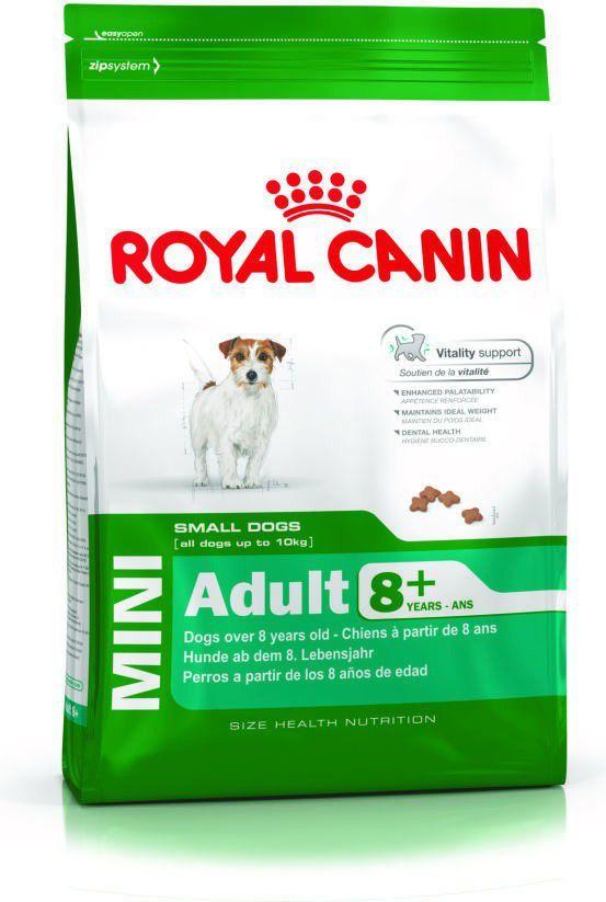 Royal Canin SHN Mini Adult wiek 8+ 8 kg 1