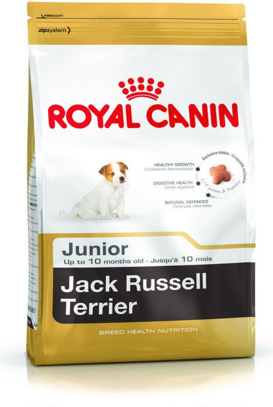 Royal Canin Jack Russell Terrier Junior karma sucha dla szczeniąt do 10 miesiąca, rasy jack russel terrier 3kg 1