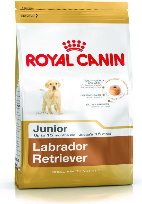 Royal Canin Labrador Retriever Junior karma sucha dla szczeniąt do 15 miesiąca, rasy labrador retriever 3kg 1