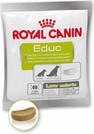 Royal Canin Nutritional Supplement EDUC niskokaloryczne przysmaki do nagradzania 50g 1