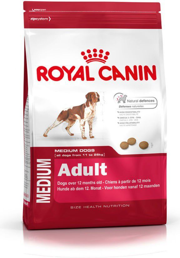 Royal Canin Medium Adult 4 kg 1
