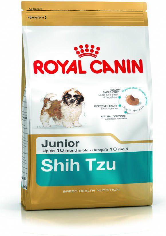 Royal Canin Shih Tzu Junior karma sucha dla szczeniąt do 10 miesiąca, rasy shih tzu 1.5 kg 1